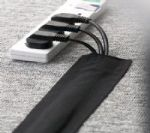 Cable Sock Cover - Black